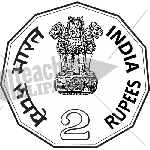 Indian clipart black and white